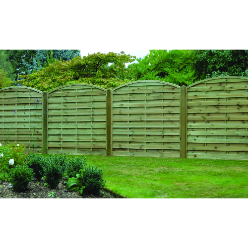 Arched-Horizontal-Fence-Panel
