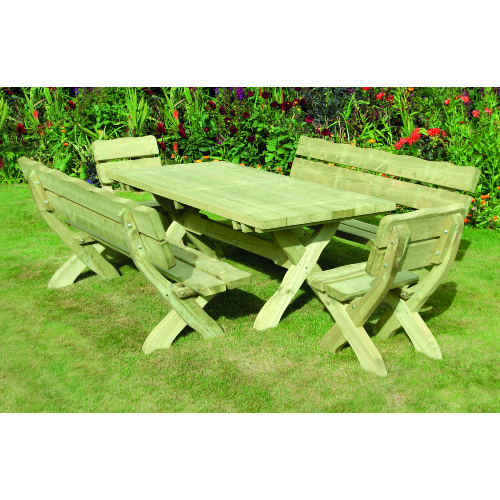 Country-Style-Dining-Set