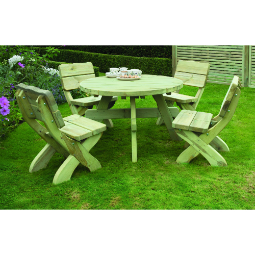Country-Style-Round-Table