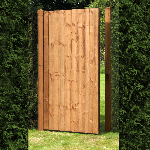 Featheredge-Brown-Gate