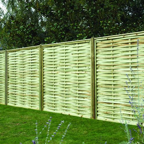 Premium-Woven-Fence-Panel