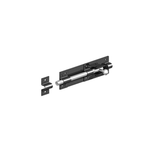 GATEMATE®-Tower-Bolt-200mm-Epoxy-Black