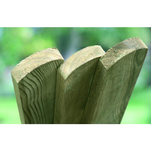 Planed-Round-Top-Picket-Boards