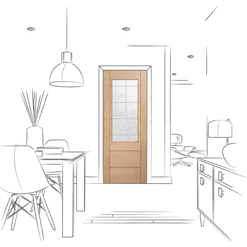 Palermo-2XG-Internal-Oak-Door-with-Clear-Etched-Glass