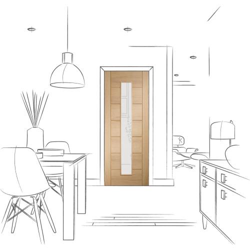 Palermo-Original-1-Light-Internal-Oak-Door-with-Clear-Glass