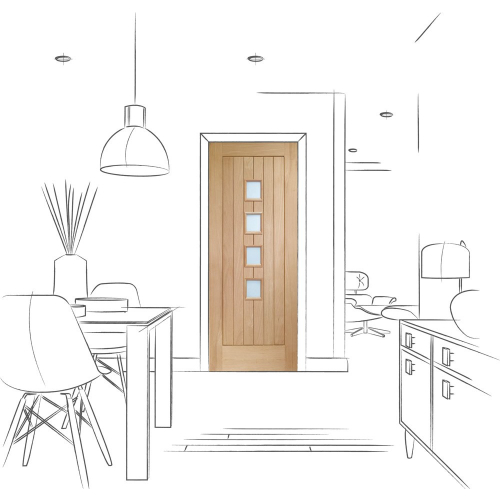 Suffolk-Original-4-Light-Internal-Oak-Door-with-Obscure-Glass